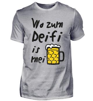 Wo zum Deifi is mei Bier