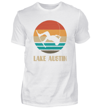 Lake Austin TShirt Wakeboarding Shirt