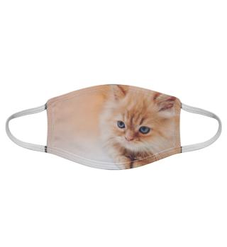 Gesichtsmaske mit Katzenmotiv 20.47