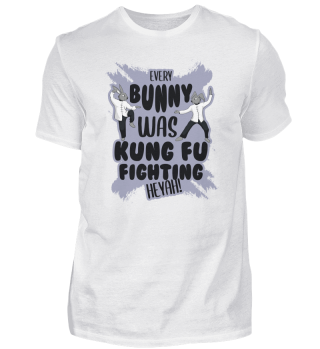 Bunny Kung Fu Fighting Easter fight