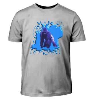 Blauer Gorilla 3 D - Kinder