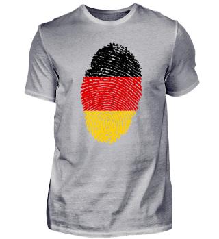 Fingerabdruck - Deutschland