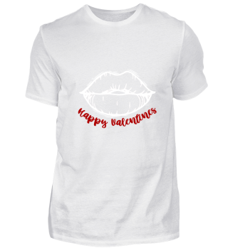 Valentines Gift Kiss Lips Red