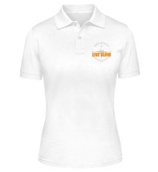 Sail Fast Live Slow Polo-Shirt