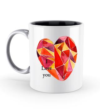 Herz Liebe Valentinstag Geschenk idee