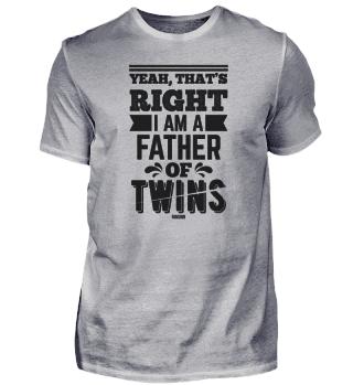 Vater von Zwillingen