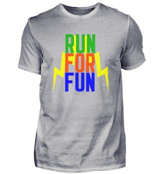 RUN FOR FUN! Fitness Running Gift