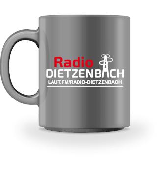 Radio Dietzenbach Tasse Vollfarbe