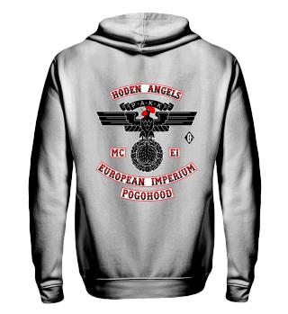 Jacke: PAKK Hoden Angels MC EI Pogohood