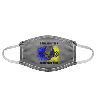 Oberlausitzer Granitschädel - Maske