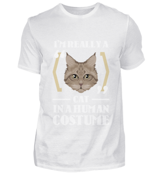 D007-0096B I'm really a Cat in a human c