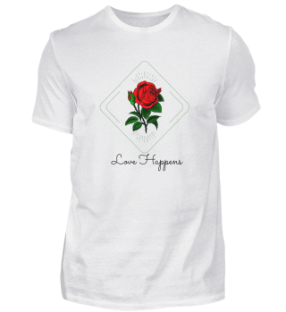 Love Happens Basic Shirt