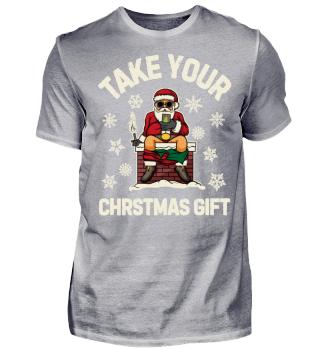 TAKTE YOUR CHRISTMAS GIFT - SANTA SHIRT