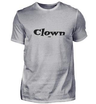 Clown (schwarz)