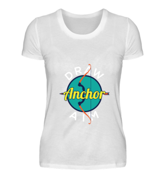 Draw Anchor Aim Archery Lover Gift