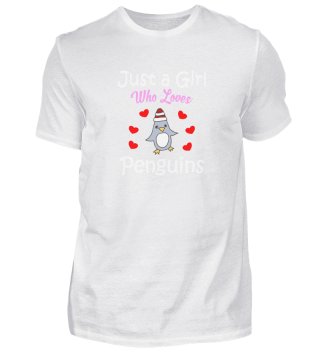 Penguin Gift : just a Girl who loves