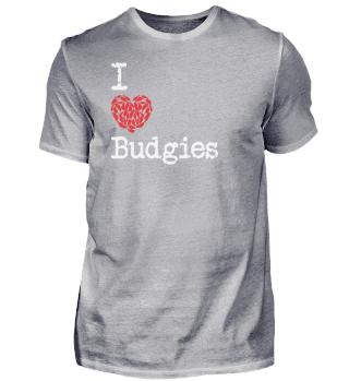 I Heart Budgies | Love Budgerigar Bird Breeds