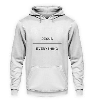 Jesus over everything - Hoodie