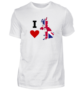 I love Great Brittain UK England