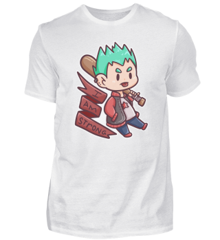 cool strong brave boy Baseball kids gift