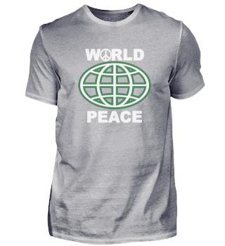World Peace Krieg Weltkarte Protest