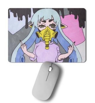 Fuck You - Manga - Gasmaske - Gift Idea