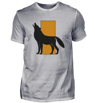 Classy and Minimalist Wolf Shirt