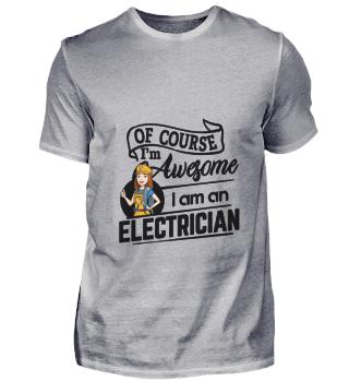 D001-0524B Female Electrician Elektriker