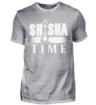 Trendy Shisha Zeit Spruch Design