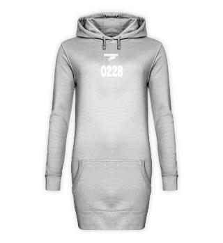 SALE Hoodie Kleid 0228