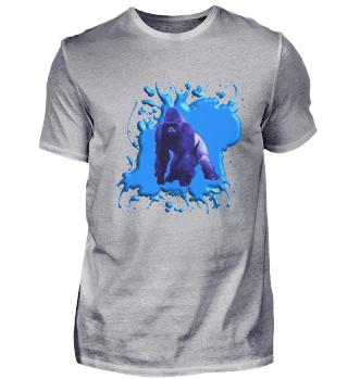 Blauer Gorilla 3 D - Herren