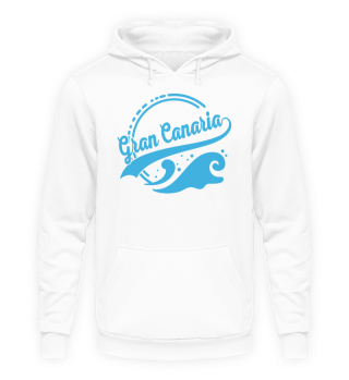 Gran Canaria Pullover Hoodie Welle