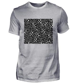 Schwarzweiß Muster