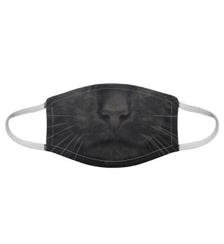 Gesichtsmaske mit Katzenmotiv 20.69