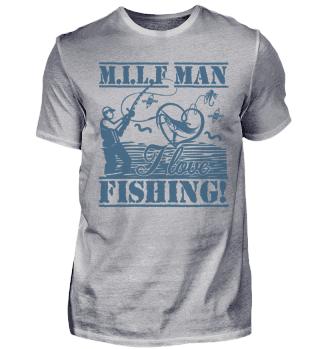 MILF Man Ich Liebe Fischen Spruch Angeln