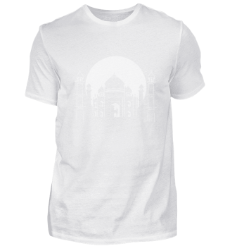 Building symbol Taj Mahal India wonders