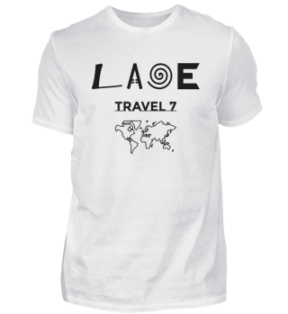 Laoe Travel 7 - Klassisches Logo Black ( Men )