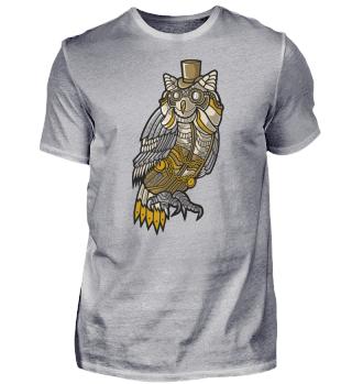 ☛ Steampunk Owl #20.1