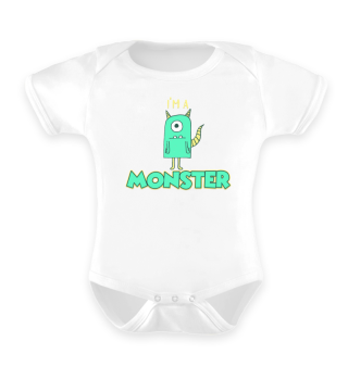 I Have Created A Monster Baby Strampler