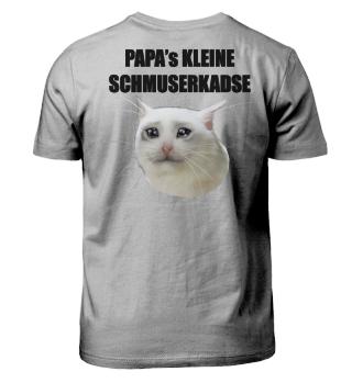 PAPA's KLEINE SCHMUSERKADSE | black