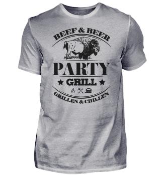 ☛ Partygrill - Grillen & Chillen - Beef #5S