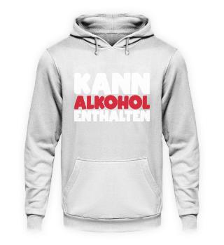 Kann Alkohol enthalten