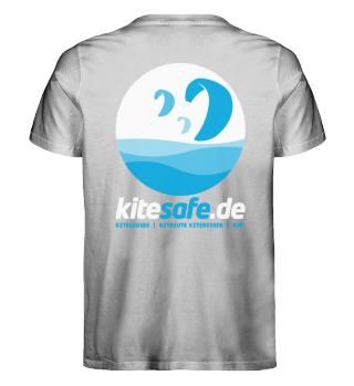 kitesafe.de Herren Premiumshirt Logo