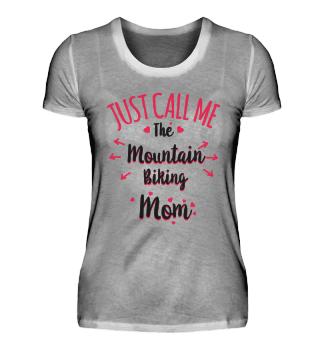 Mountain Biking Mom / Mutter Geschenk