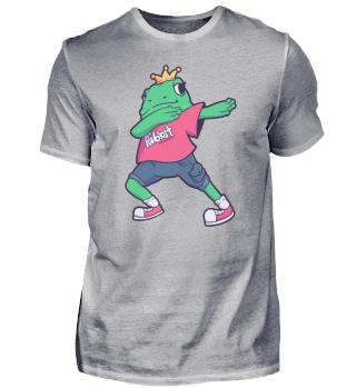 dab Frog Ribbit King Quack dabbing