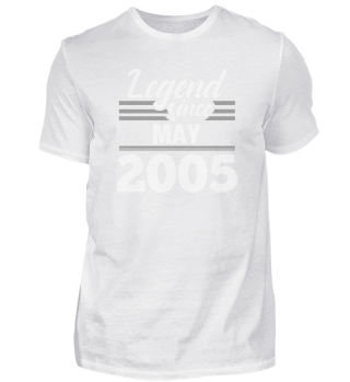 Legend Since May 2005