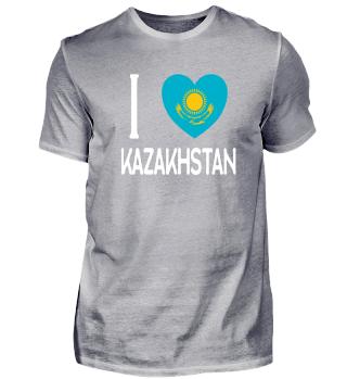 I LOVE KAZAKHSTAN - Funny Russian Gift