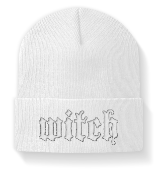 WITCH Embroidered Beanie