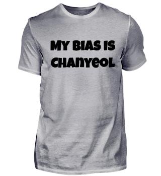 my bias is Chanyeol