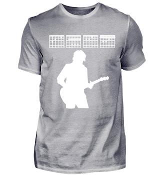 Gitarre, Gitarrist Noten Akkorde CHEF